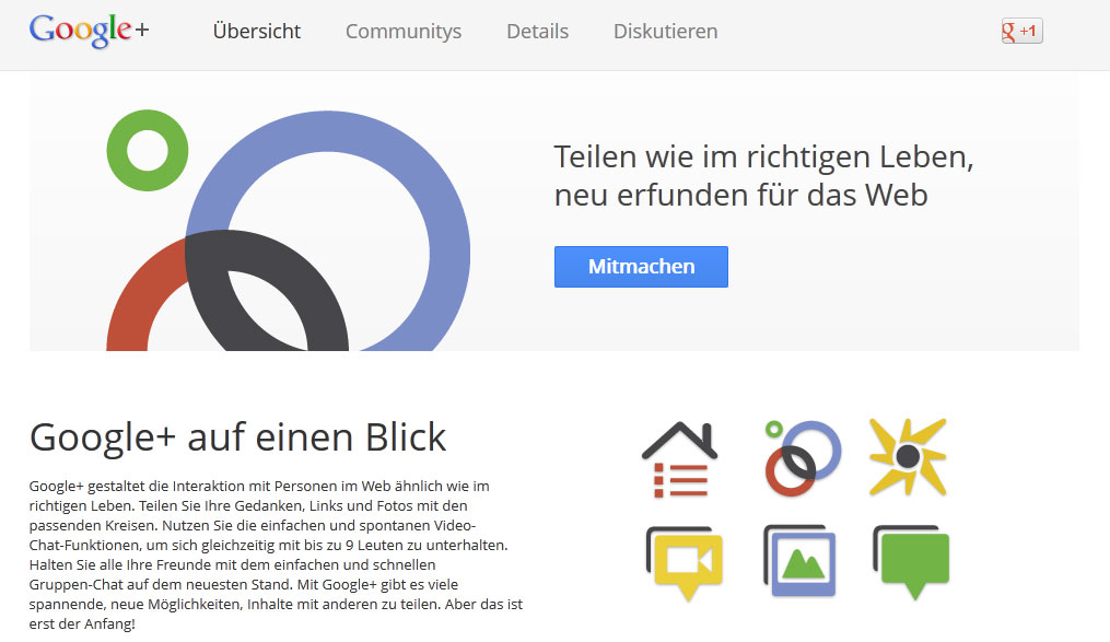 Google+: Nur Mittel für andere Zwecke? • SEO-AMBULANCE+de®