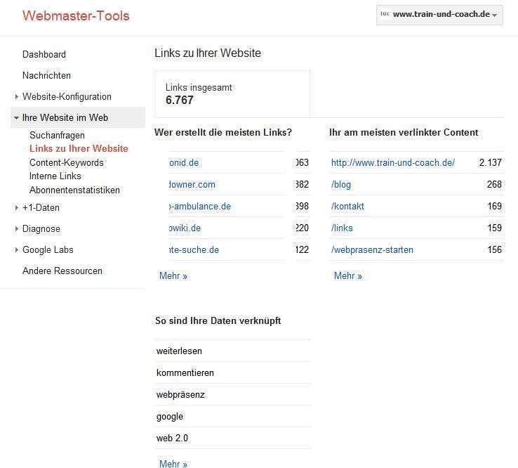 webmaster-tools-externe-links-übersicht